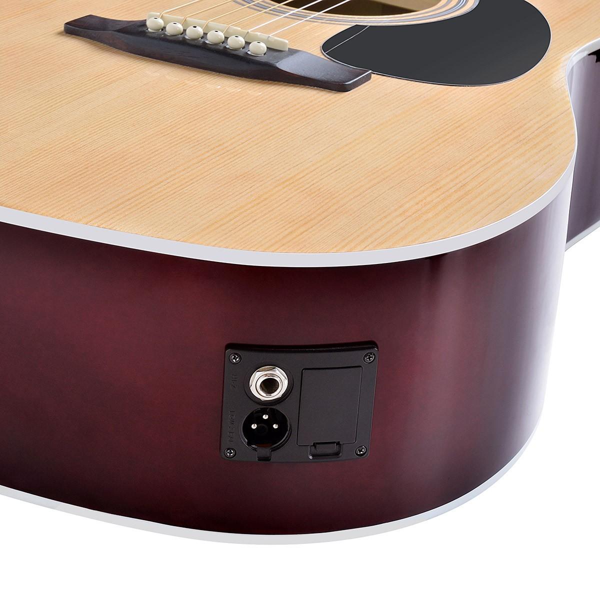 soundsation guitare acoustique yellowstone-dn-sb