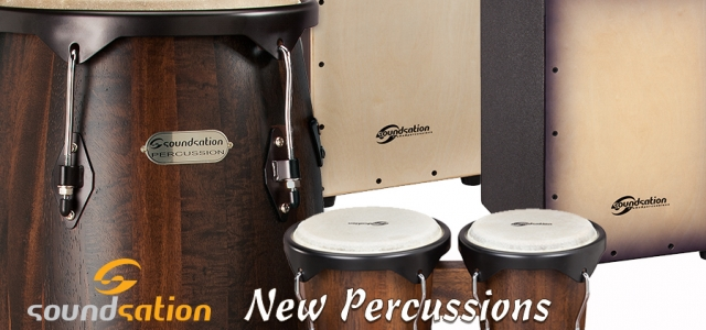 New percussions by Soundsation