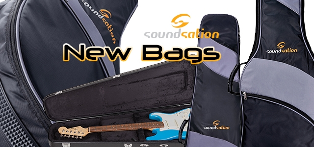 Gig bags, soft cases and hard cases