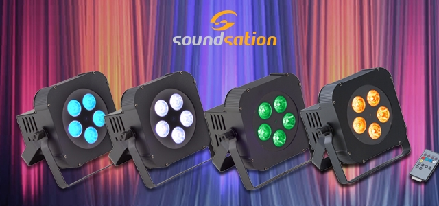 SOUNDSATION Battery-Powered LED PARs