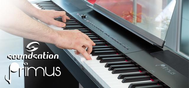 ​Introducing Soundsation PRIMUS: new digital piano 88 keys Hammer Action
