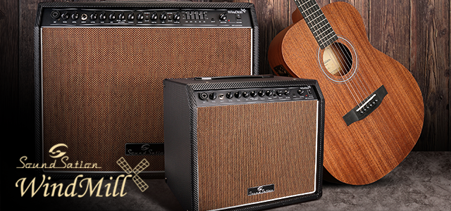 Introducing new Soundsation Windmill acoustic amps
