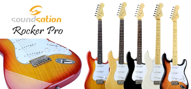 Soundsation ROCKER PRO series – Visual appeal, tone, feel.