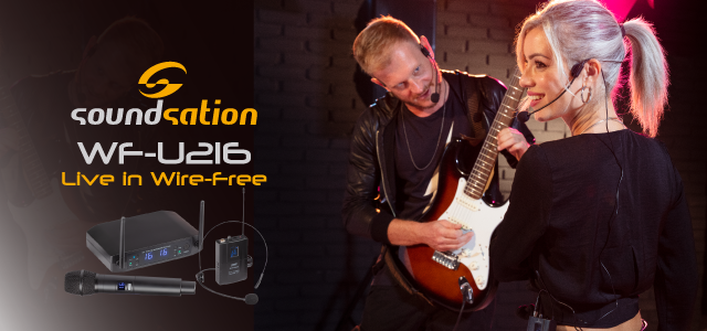 Soundsation's Wire-Free series launches the brand new WF-U216