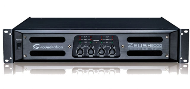 ZEUS H5000 – powerful and versatile 4 channel amplifier